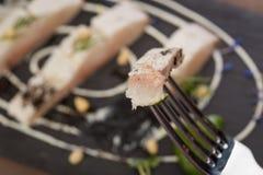 Faixa do peixe branco Fotos de Stock