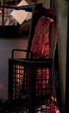 Faixa do salmão fumado, vertical Foto de Stock Royalty Free