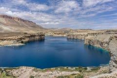Faixa-e-amir do lago em Afeganistão Foto de Stock Royalty Free