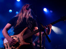 Faixa finlandesa Tarot do metal pesado vivo no estágio Fotografia de Stock Royalty Free