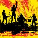 Faixa Grunge da guitarra Fotografia de Stock Royalty Free