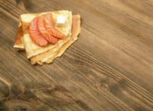Faixa salmon fumada Imagens de Stock Royalty Free