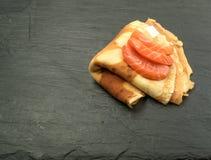 Faixa salmon fumada Fotografia de Stock