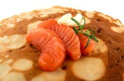 Faixa salmon fumada Fotos de Stock Royalty Free