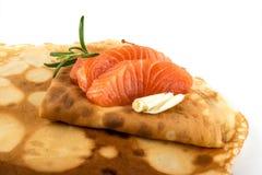 Faixa salmon fumada Imagem de Stock
