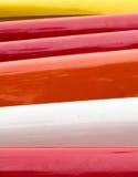 Faixas das cores Foto de Stock