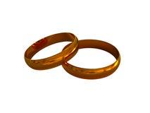 Faixas de casamento 4 Imagem de Stock Royalty Free