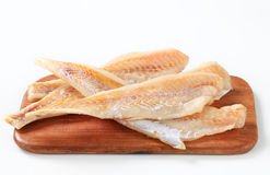 Faixas de peixes frescos Imagem de Stock
