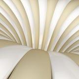 Faixas que formam o redemoinho abstrato Imagem de Stock