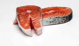 Faixas Salmon Imagens de Stock