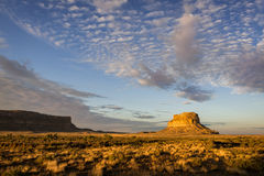 Fajada Butte. In Chaco Canyon at the Chaco Culture National Historical Park in New Mexico stock photo