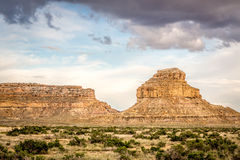 Fajada Butte in Chaco Culture National Historical Park Royalty Free Stock Photography