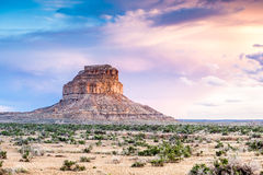 Fajada Butte in Chaco Culture National Historical Park, New Mexi Royalty Free Stock Photos