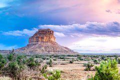Fajada Butte in Chaco Culture National Historical Park, New Mexi Royalty Free Stock Photography