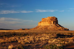 Fajada Butte, Chaco Culture National Historical Park, New Mexico Royalty Free Stock Images