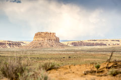 Fajada Butte in Chaco Culture National Historical Park Stock Images
