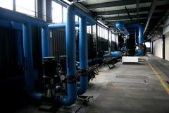 Infrastruktura w fabryce Zdjęcia Stock