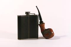 fajczany kolby dymienie Obrazy Stock