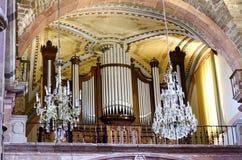 Fajczany organ Fotografia Royalty Free