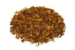 Fajczany tytoń odizolowywający na bielu Obrazy Royalty Free