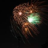 Fajerwerki Zdjęcie Royalty Free