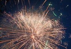 Fajerwerki dla wakacyjnych świętowań zdjęcia stock