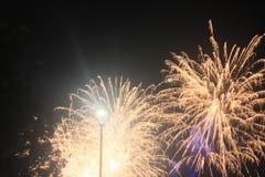 Fajerwerki-Feuerwerke Lizenzfreies Stockfoto