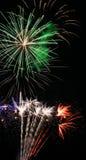 Fajerwerki - Kolorowy świętowanie światło zdjęcia stock