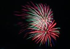 Fajerwerki na Kanada dniu w Stittsville 12 obraz royalty free