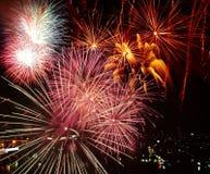 Fajerwerku świętowanie Fotografia Stock