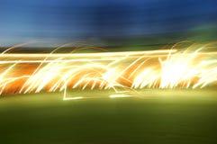 Fajerwerku abstrakcjonistyczny tło Fotografia Royalty Free