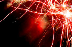Fajerwerku abstrakt Fotografia Royalty Free