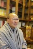 Fajing, abbot of miaofalinsi temple Royalty Free Stock Images