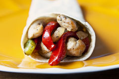 Fajita Royalty Free Stock Photography