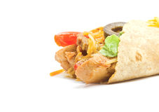 Fajita close up Royalty Free Stock Images