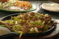 Fajita grillé de bifteck Photo libre de droits