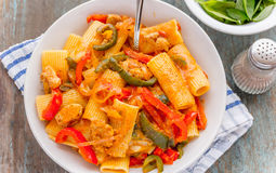 Fajita Pasta Stock Image