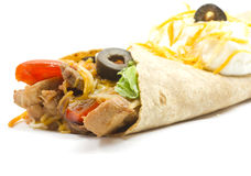 Fajita ready for dinner Stock Photo