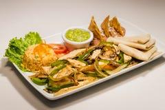 Fajita-Tacos Stockfotografie