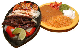 Fajitas. A Delicious fajita shot Stock Images
