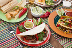 Fajitas Stock Photos