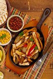 Fajitas da galinha foto de stock royalty free