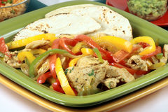 Fajitas mexican style Royalty Free Stock Photography