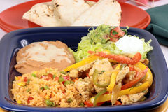 Fajitas mexican style Stock Images