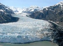 fajne lodowiec fotografia stock