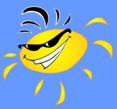 fajne słońce ilustracji