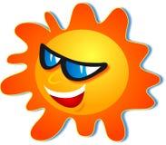 fajne słońce Fotografia Stock