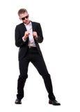 fajny taniec nastolatków. Zdjęcie Stock