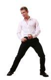 fajny taniec nastolatków. Zdjęcia Royalty Free
