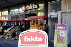 FAKAT食物链商店 库存照片